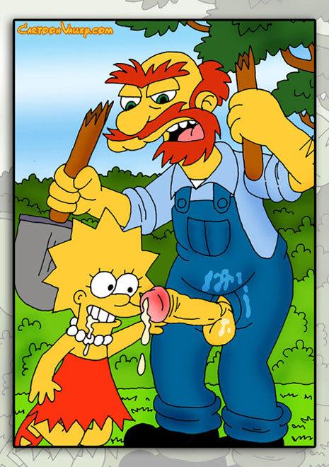 Imagenes de Los Simpsons que nunca viste...