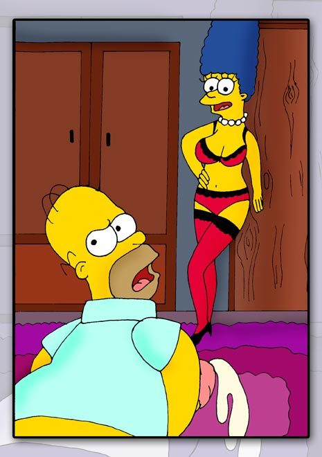 Look that marge simpson get fucked tits