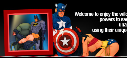 WonderWoman sucking Captain America