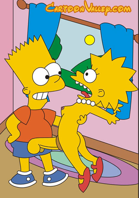 Maggie Gets Bound And Deals With Sensual Bart Simpson