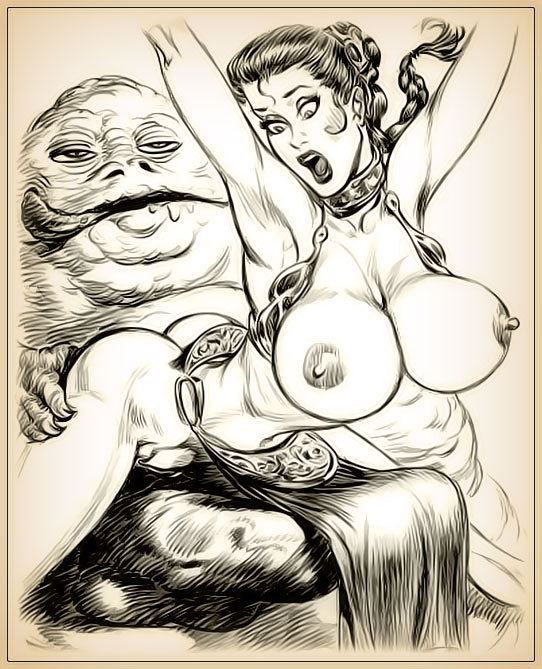 Drawn porn of princess leia