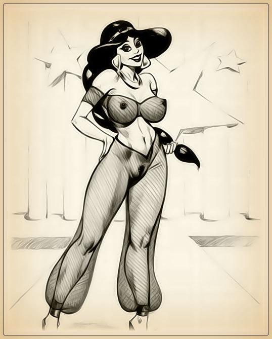 Porn sketches of jasmine
