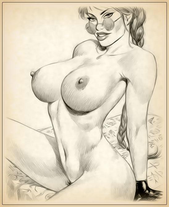 Sex porn pencil drawings