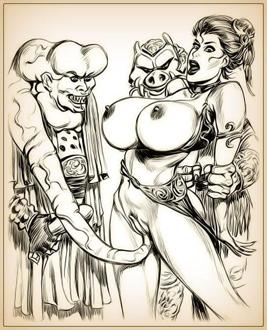 princess leia drawn porn